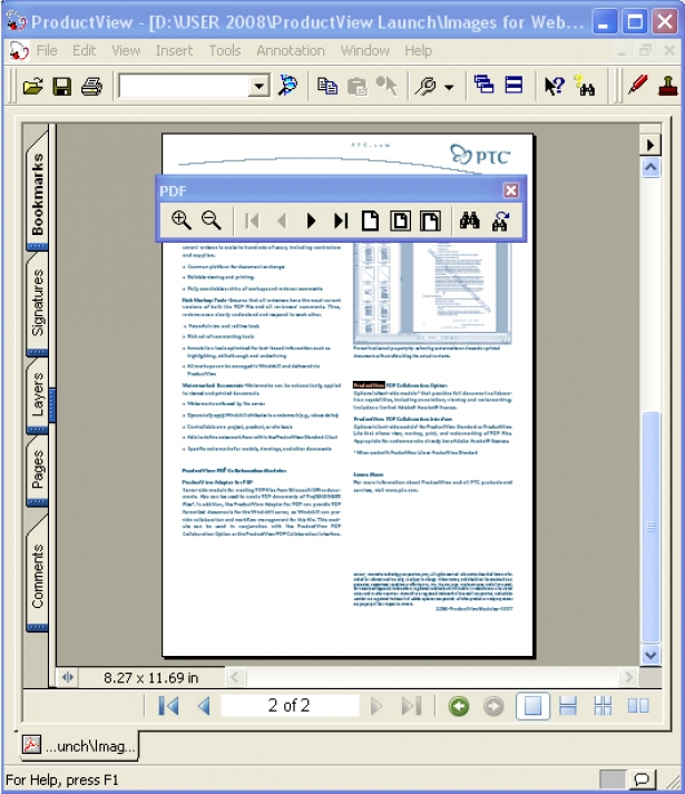 Creo View PDF Solutions